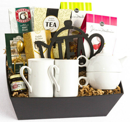Tea Time Gift Basket by Soderberg's