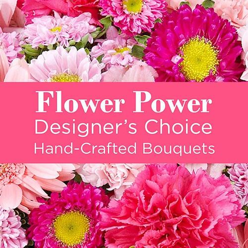 Shades of Pink Florist Designed Bouqet