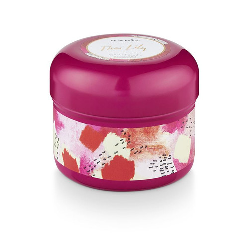 """Thai Lily  """"Go Be Lovely""""  Candle Tin by Illume"""