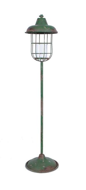 """52""""H Metal Standing Lantern Pillar Holder"""