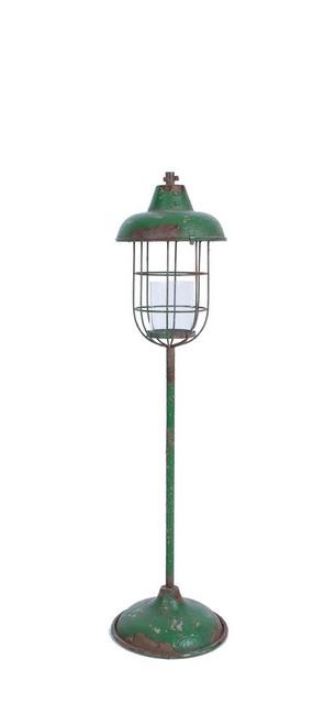 """42-1/2""""H Metal Standing Lantern Pillar Holder"""