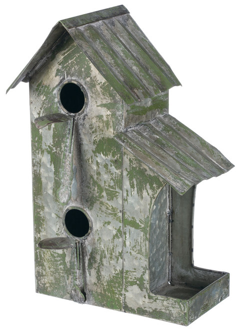 Twin Feeder Birdhouse