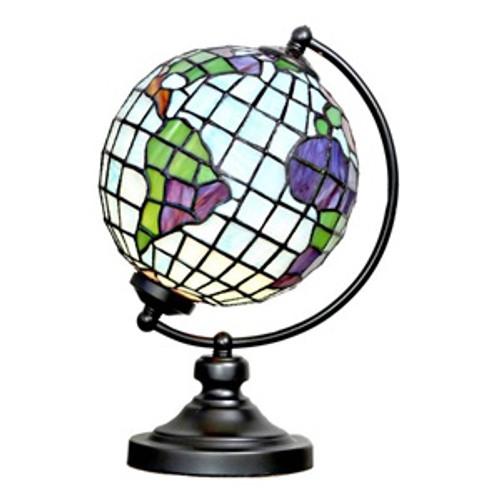 "14.9""H Tiffany Style Globe"