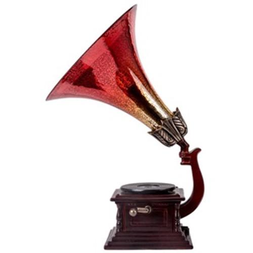 """15.75""""H Gramophone"""