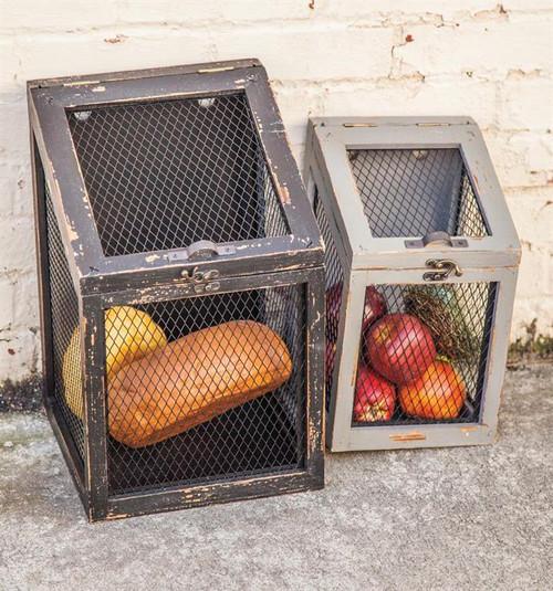 Wired Storage Bins Set of 2