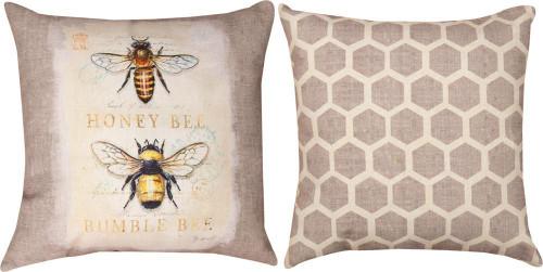 NATURAL LIFE BEE BUMBLE BEE PILLOW