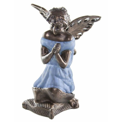"""8.5""""  Glass Angel Lamp-PRE-SALE ONLY"""