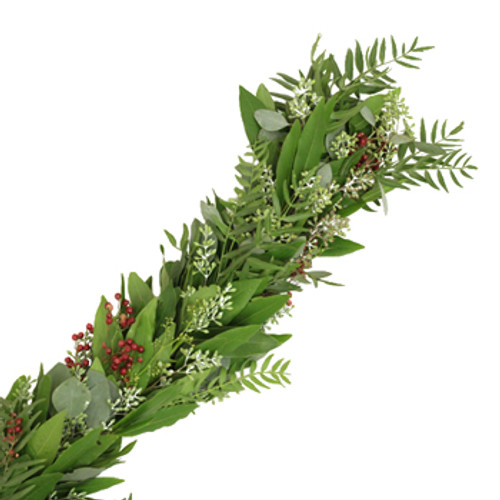 Fresh Garland - Sold Per Foot   LOCAL/MPLS DELIVERY ONLY