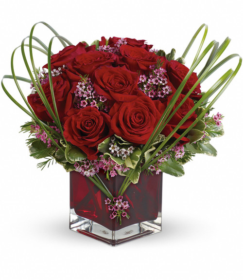 Sweet Thought with Red Roses