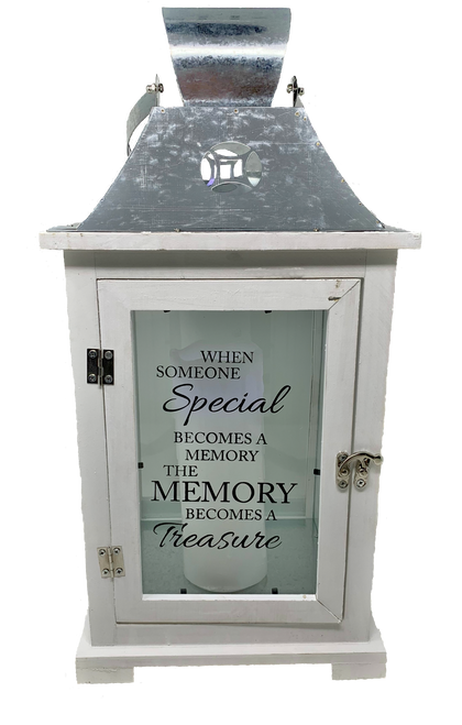 Treasured Memories Sympathy Lantern