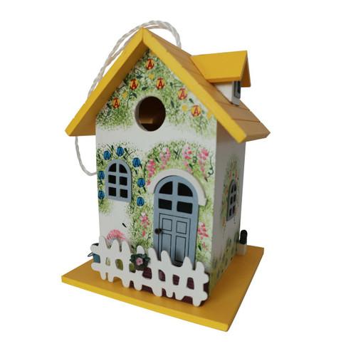 Flower Cottage Birdhouse