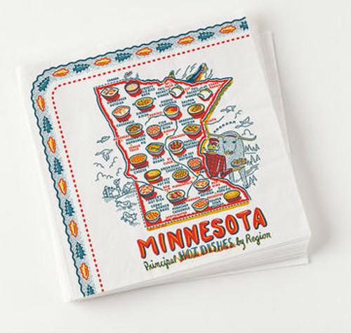 """Minnesota """"Hot Dish"""" Napkins 20/PK"""