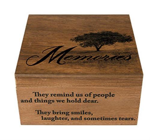 """""""Memories"""" Keepsake Memory Box"""