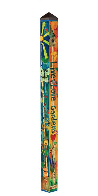 Love Garden 6' Art Pole