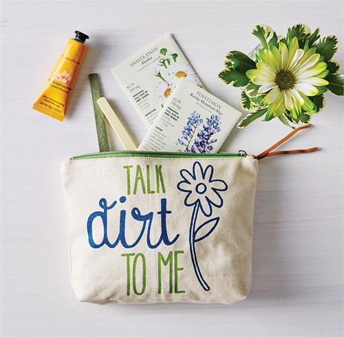 Talk Dirt to Me Pouch