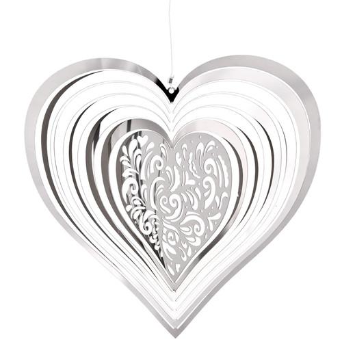 Shimmers Suncatcher by Woodstock - Heart