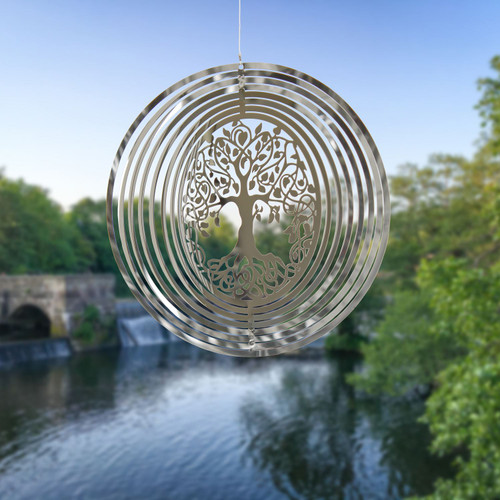 Shimmers Suncatcher by Woodstock - Tree of Life