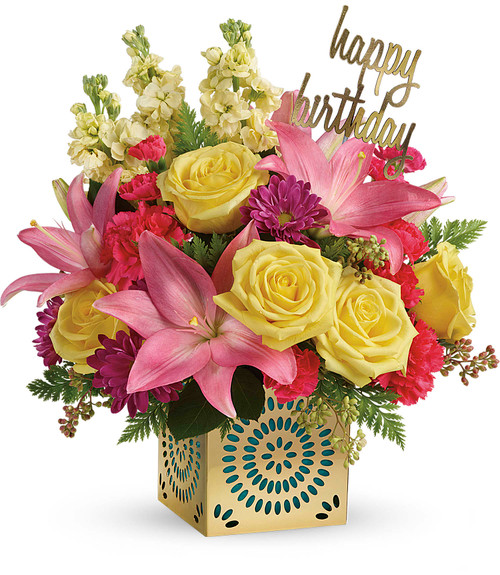 Blooming Birthday Bouquet