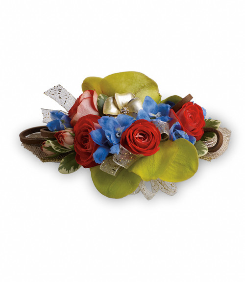 Custom -Made Barefoot Blooms Corsage Wrist Corsage