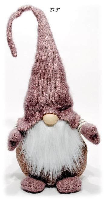 "27.5"" Mauve/Pastel Super Cute Gnome"
