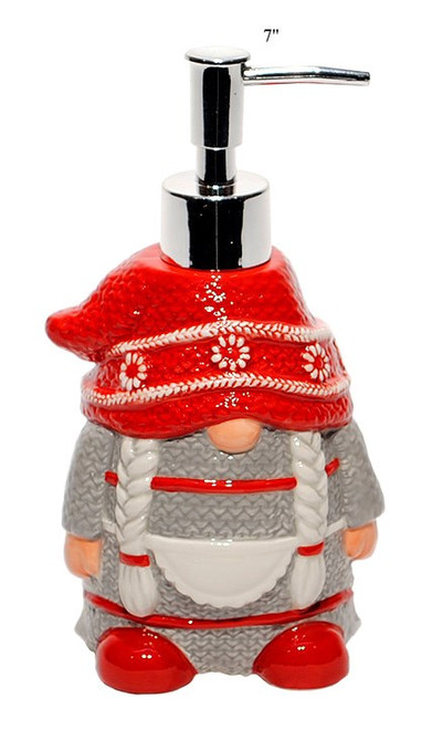 Mrs Gnome Soap Dispenser