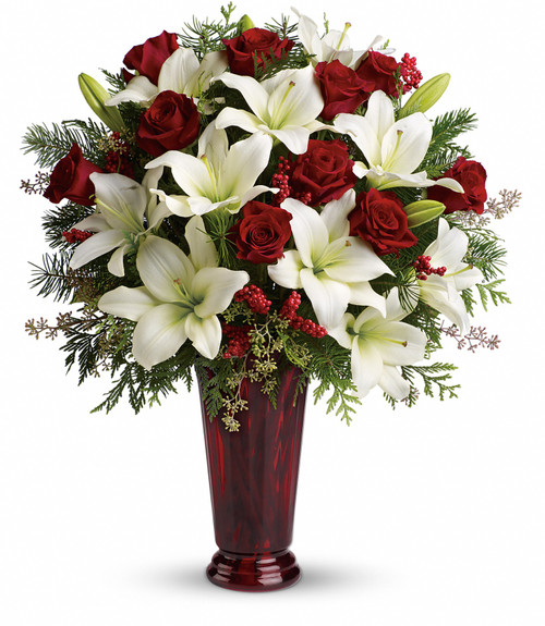 Holiday Magic  Bouquet T117-1a