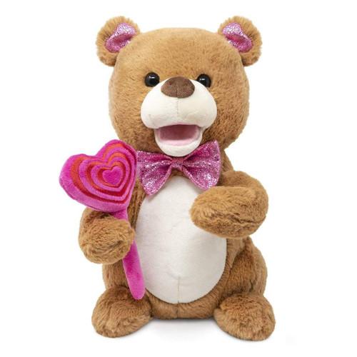 """Pink """"Sugar  Sugar"""" Singing Bear"""