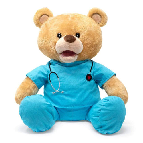 "11"" Animated Doctor Singing Bear"