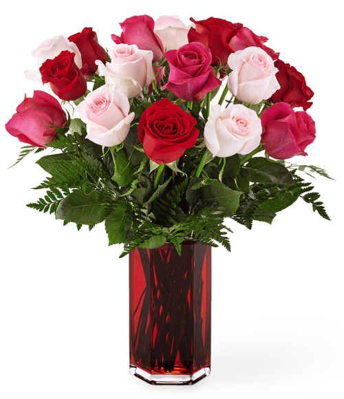 Sweetheart Roses Valentine  Bouquet