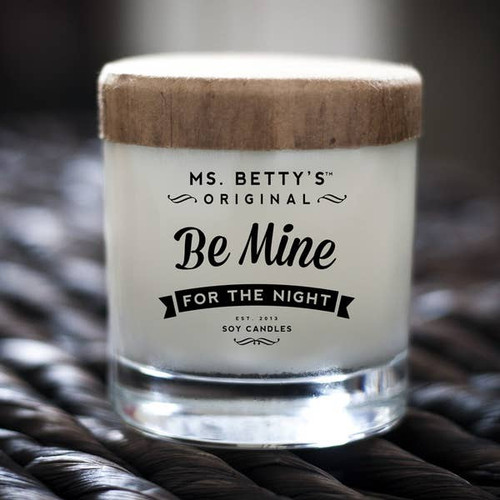 Be Mine - For the Night (Lavender and White Tea) Soy Candle by Ms Betty's Orginals