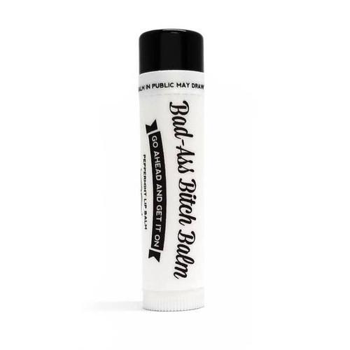 Bad-Ass Bitch Balm - TWO-  All Natural & Organic Lip Balm (Peppermint)by Ms Betty's Orginals