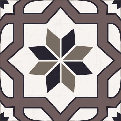 Tile Look Vinyl Coaster --Sparkle_B