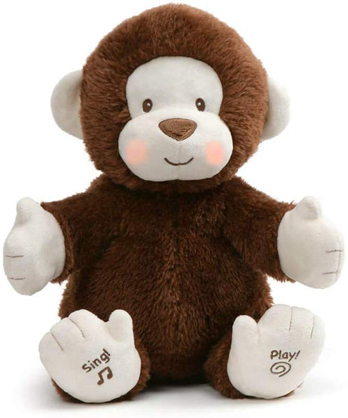 Animated Clappy the Monkey by GUND
