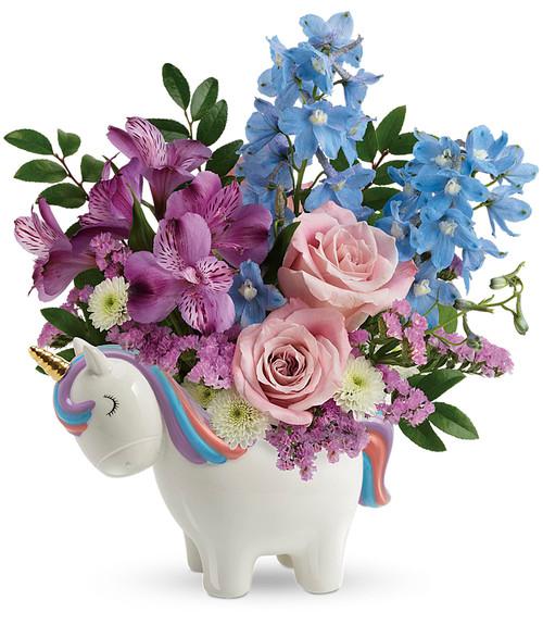 Ecnchanting Pastel Unicorn Bouquet