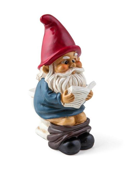 The Gnome on a Throne Garden Gnome