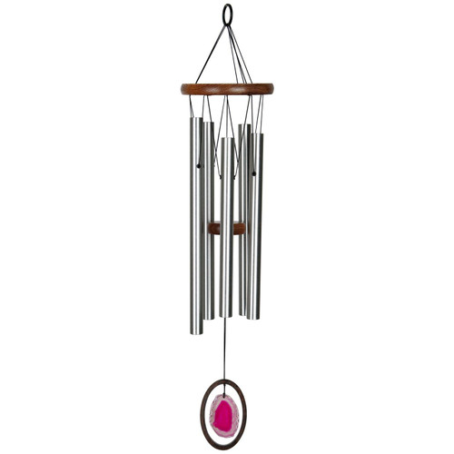 Agate Wind Chime by Woodstock -LARGE RED