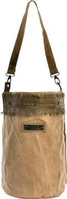 """20"""" Tent Bucket Bag By Vintage Addiction"""