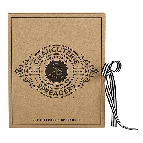 Charcuterie Spreaders Book Set