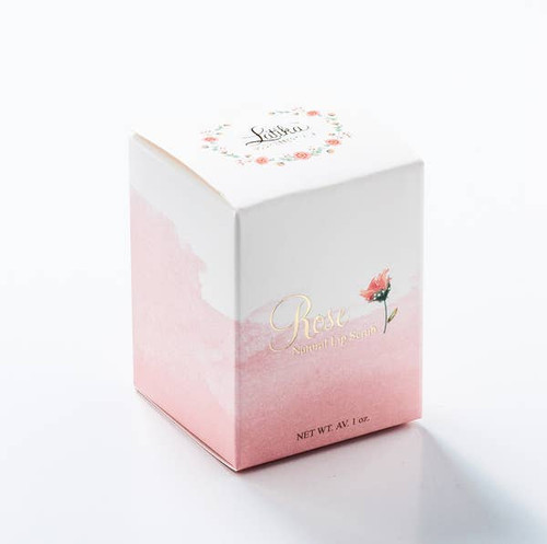 Edible Sugar Lip Care Kit- Rose