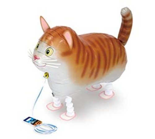 CAT ~ My Own Pet Air Walker Mylar Balloon