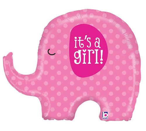It's a Girl ~ Super Shape Mylar Balloon