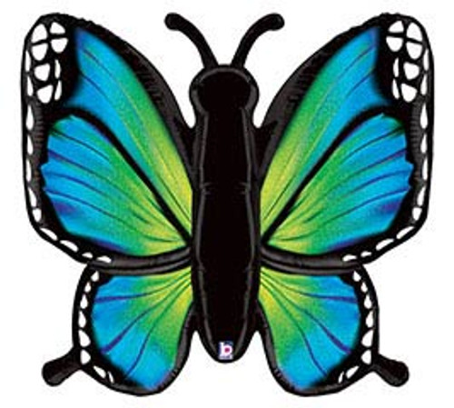 Colorful Butterflys ~ Many Styles To Choose From~ Super Shape Mylar Balloon