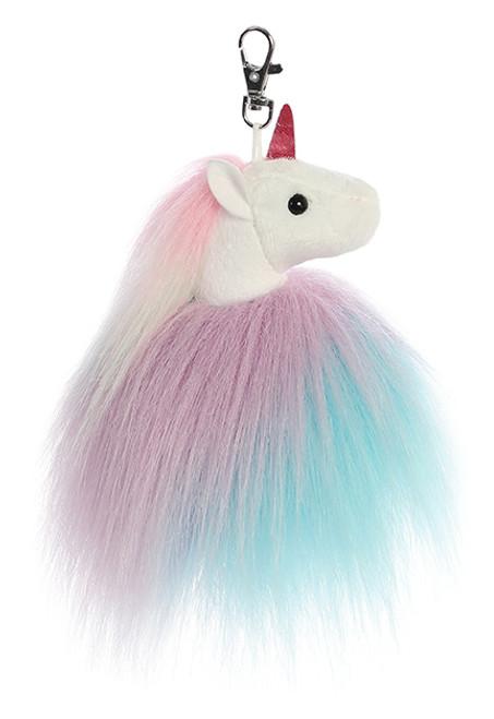 Aurora Sparkle Tales - Tickle Unicorn Keyclip 5in