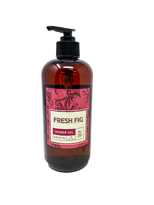16 oz Shower Gel by Flaire & Creative Coop