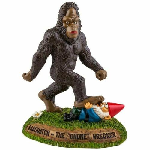 Sasquatch The Gnomewreacker Garden Gnome