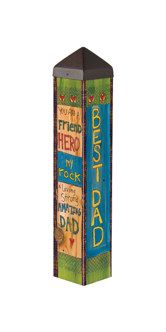 "A Father's Love 20""  Art Pole"