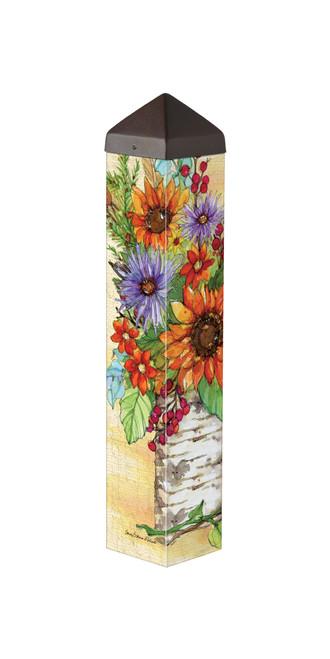 """Autumn Glory 20""""  Art Pole"""