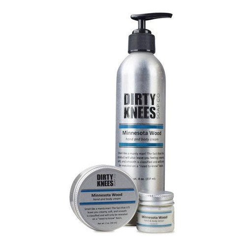 8 oz Minnesota Wood Hand and Body Lotion by Dirty Knees Soap Co.