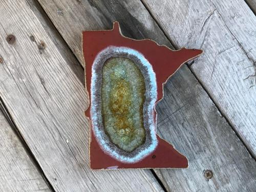 Minnesota Ceramic Coaster by Dock 6