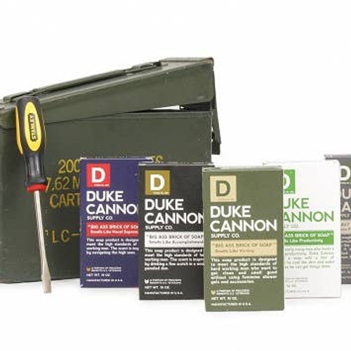 Ammo Can Gift Set by Duke Cannon